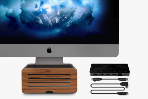 Twelve South Stay Go USB-C Hub + HiRise Pro iMac Stand Exclusive Bundle