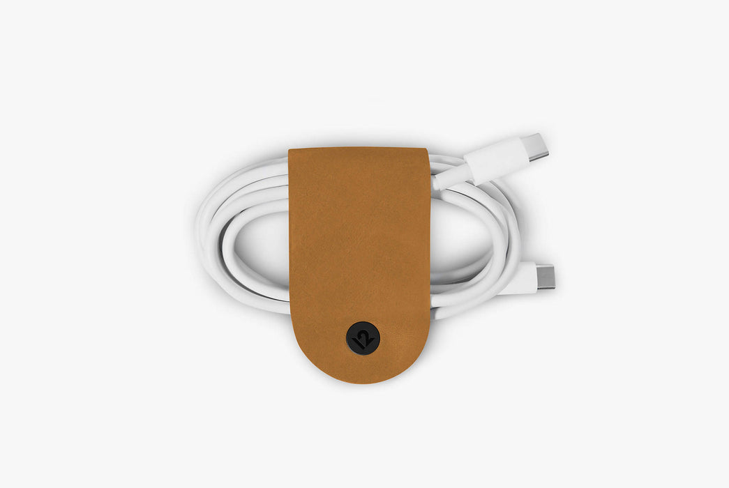 Twelve South CableSnap 3 Pack - Cognac