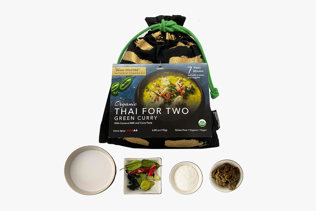 Verve Culture Thai For Two - Organic Green Curry (3 Pack)