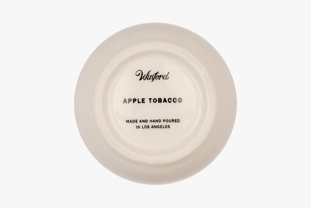 Apple Tobacco - Winford Candle - Logo on bottom
