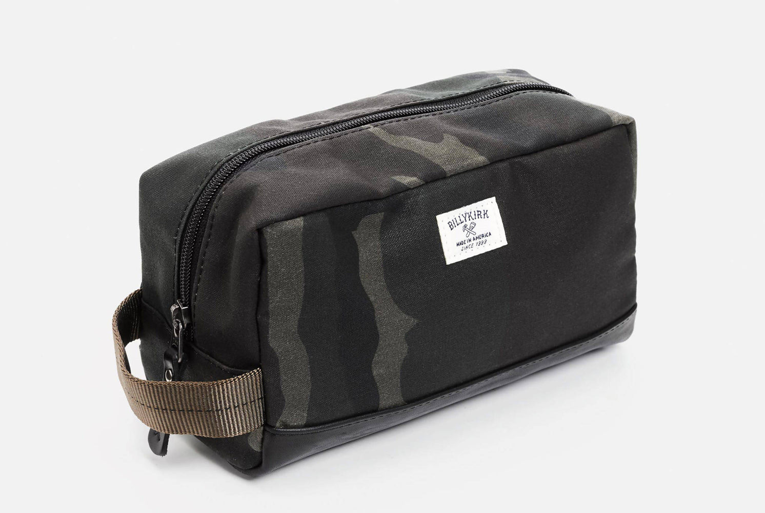 Camo Toiletry Bag - Front View