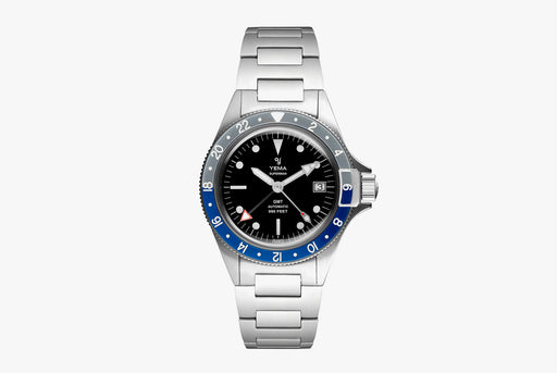 Yema Superman Heritage GMT - Blue/Grey (pre-order)