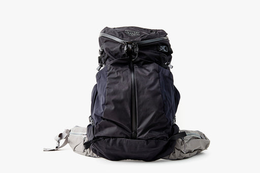 Mystery Ranch Coulee 40 Backpack - Black - image of bag standing upright