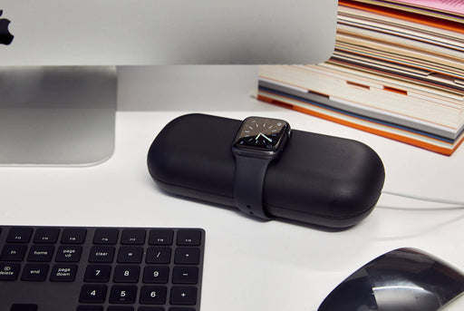 Twelve South TimePorter for Apple Watch - With watch on case on desk