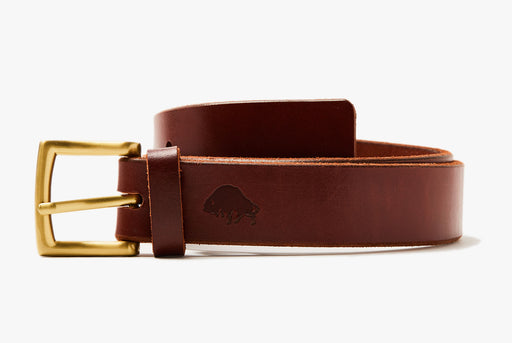 Ezra Arthur No. 1 Belt - Burgundy