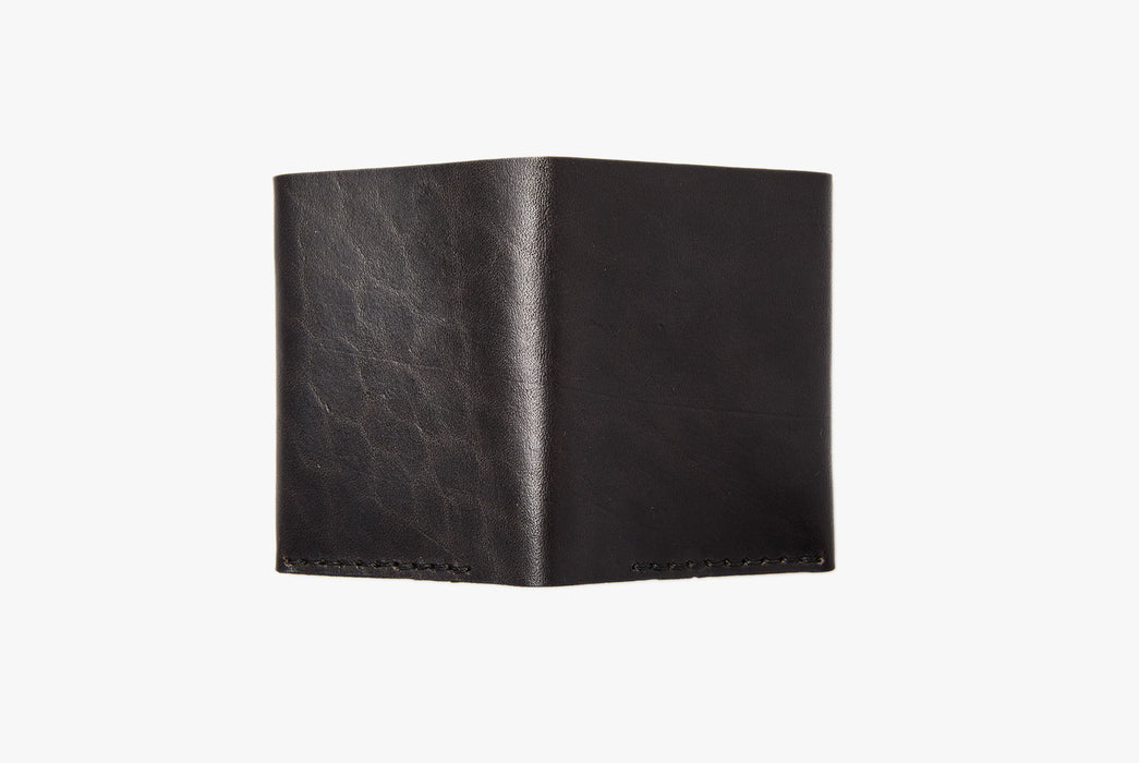 Black Wallet - Rear View