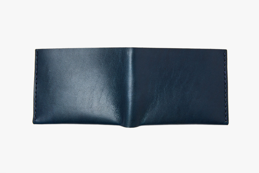 Blue Bifold - Rear View