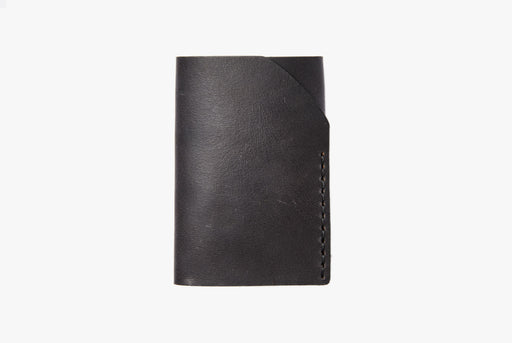 Black Wallet - Front View