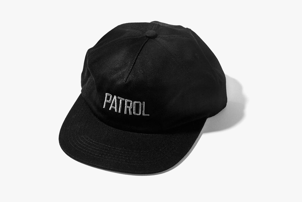 Patrol 5-Panel Hat - Black