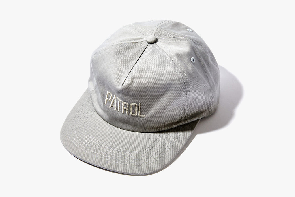 Patrol 5-Panel Hat - Grey
