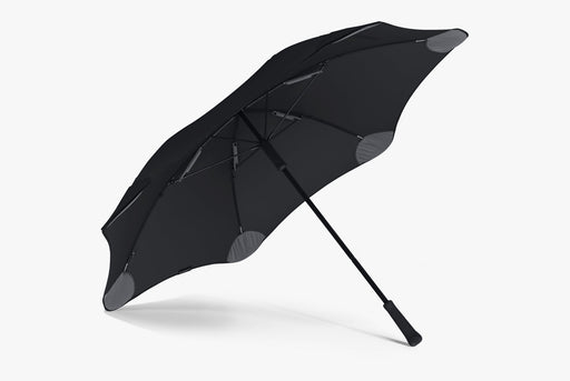 Black Umbrella Large - Umbrella Open - Side View