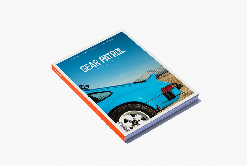 Gear Patrol Magazine: Issue Four - Alternate cover showing the back of a Porsche 911 with the beach as the background
