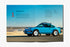 Gear Patrol Magazine: Issue Four - Open to spread showing a blue Porsche 911 with the beach as its background
