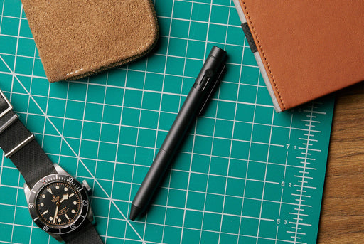 Inventery Bolt Action Pen Medium - Onyx