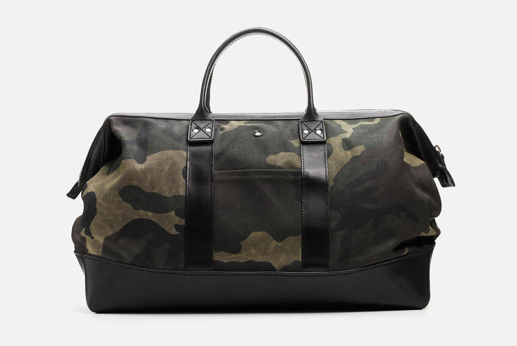 Camo Carryall Standing Up - Front View