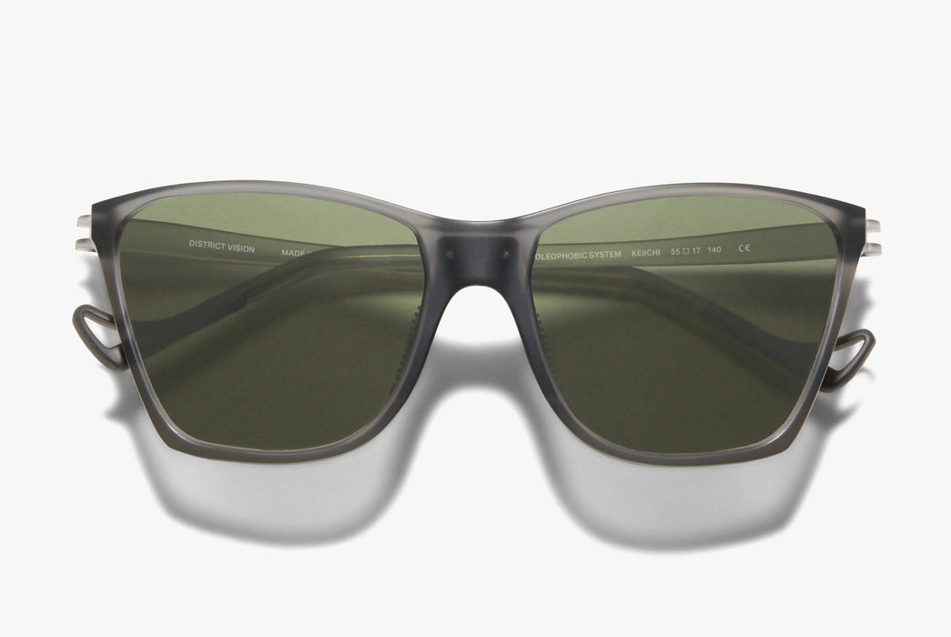 District Vision Keiichi Standard Running Sunglasses
