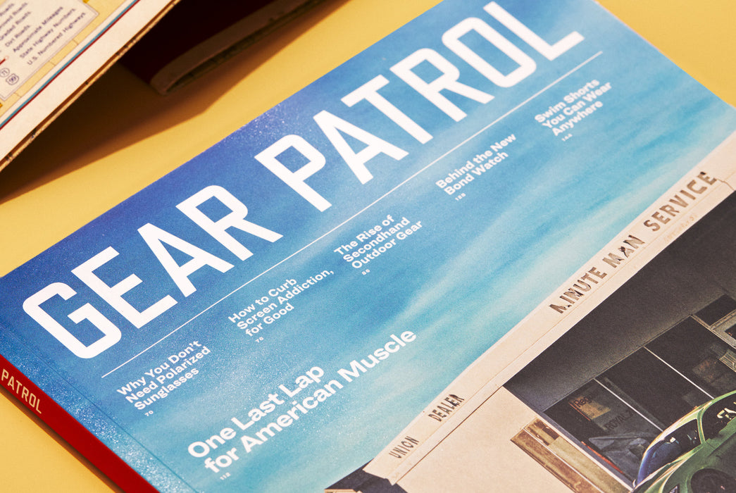 Gear Patrol Magazine - Cover Close up