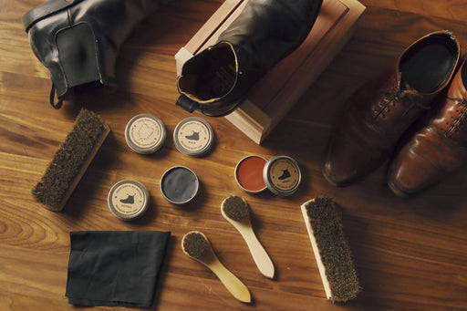 Armstrong's All Natural Shoe Shine Box