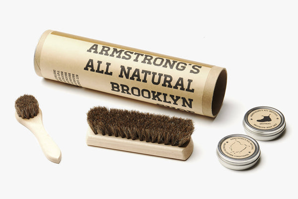 Armstrong's All Natural Tubular Shoe Care Kit
