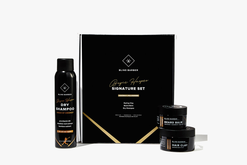 Blind Barber Bryce Harper Signature Series Gift Set