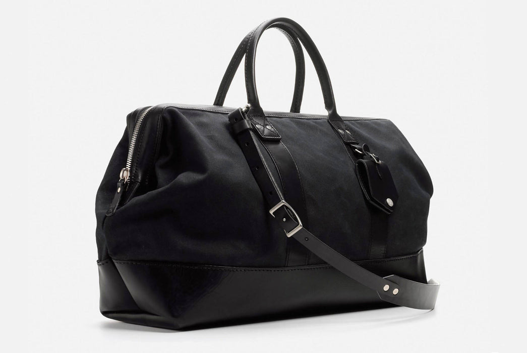 Black Carryall Standing Up - Front View