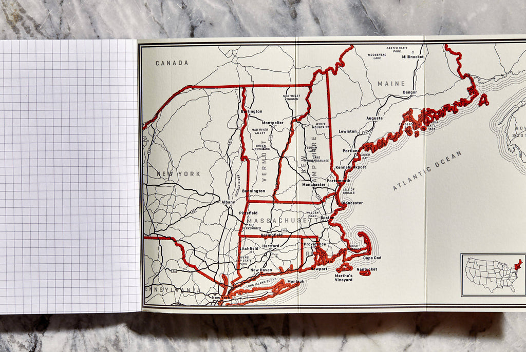 Wildsam Field Guides - Road Trips New England