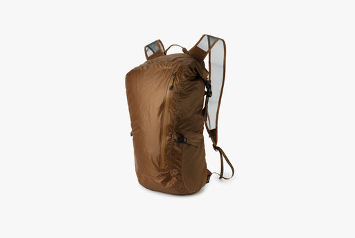 Matador Freerain24 2.0 Backpack - Coyote - Side view of pack standing upright