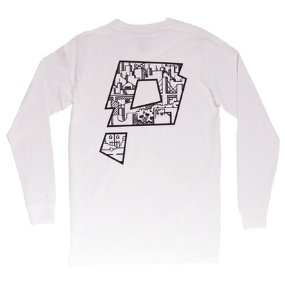 swoop ls t-shirt - Paradigm Apparel