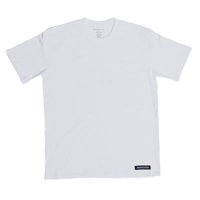 Jackson White T-Shirt - Paradigm Apparel