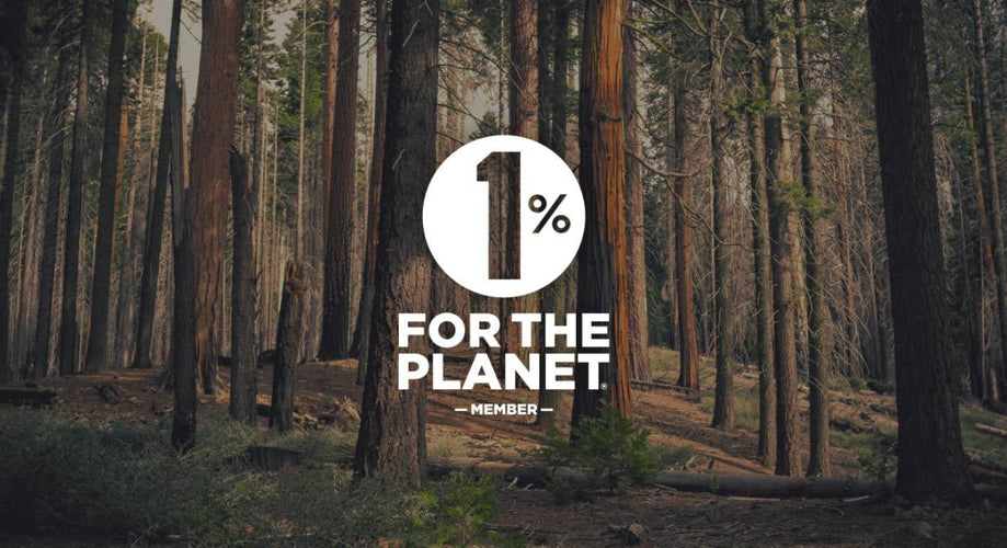 We're giving back 1% for the planet!