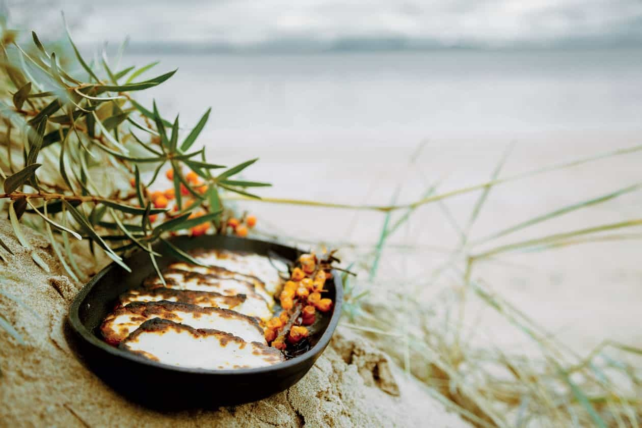 Grilled Halloumi with Sea Buckthorn Featured Image