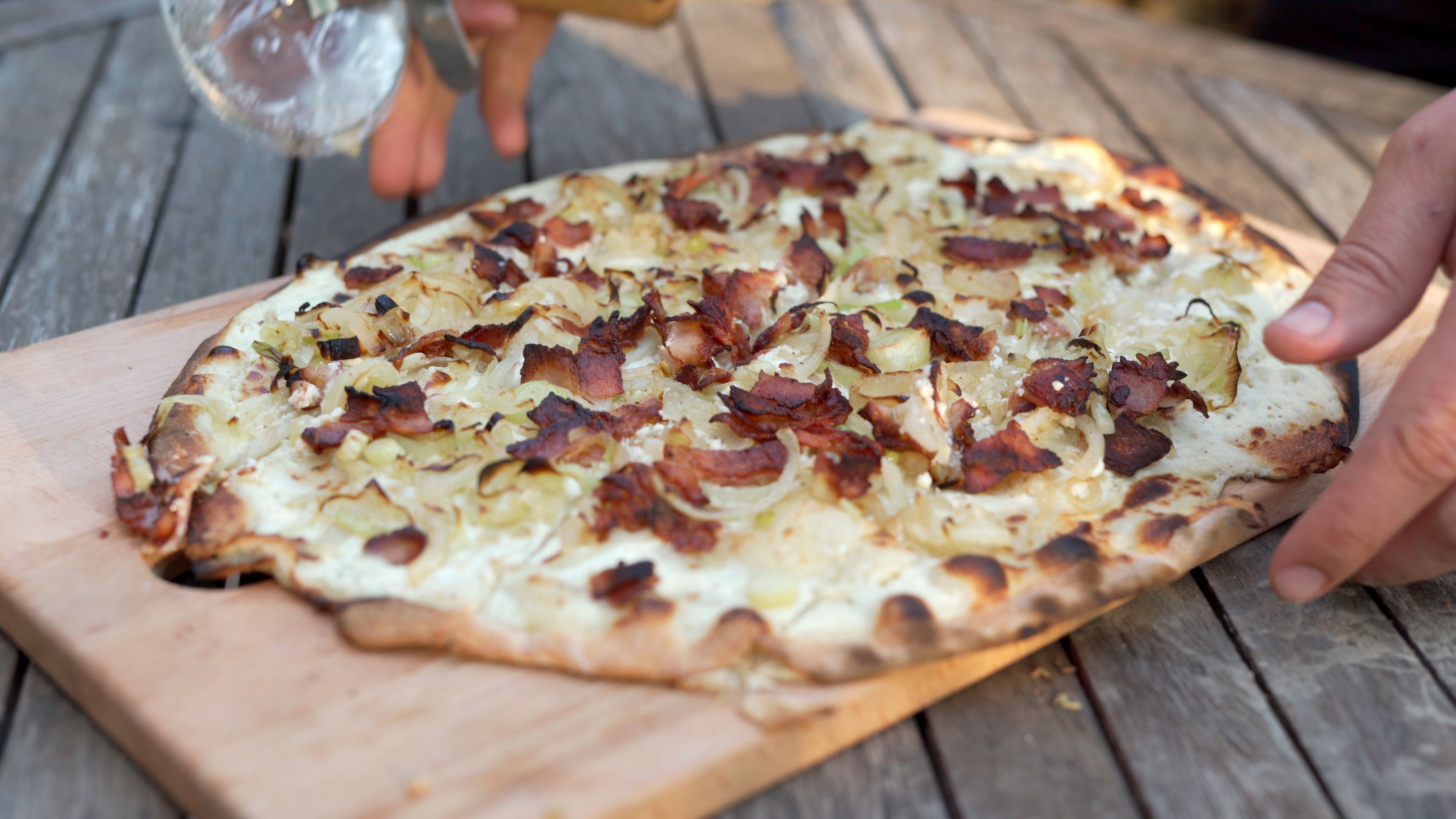 Traditional Flammkuchen Featured Image
