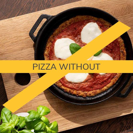 pizza without