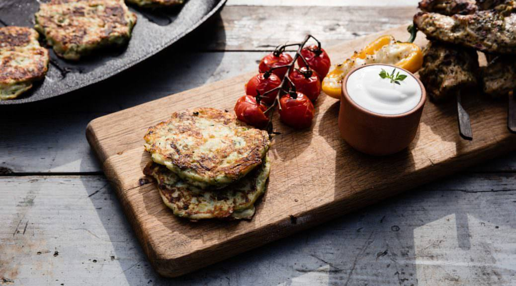 Courgette Fritters Featured Image