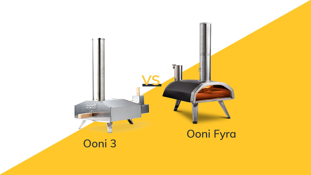 The evolution of Ooni 3 to Ooni Fyra