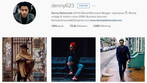 ZINVO Mens Style of Instagram denny623
