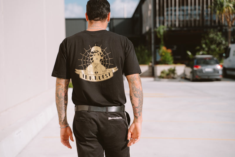 Gold Print Tee - Limited Edition