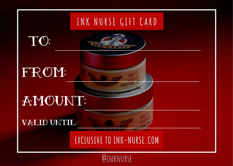 INK NURSE GIFT VOUCHER