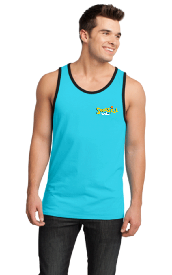 SEUSSICAL Show Apparel - Mens Ringer Tank - Medium Embroidered
