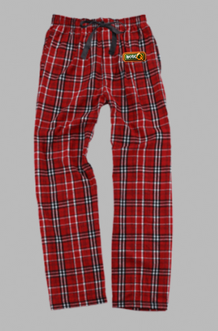 AVENUE Q Show Apparel - Flannel Plaid Pants - Large Embroidered