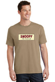 SNOOPY The Musical Show Apparel - Adult Cotton Tee - Sand - PC54