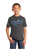 STARLIGHT EXPRESS Show Apparel - Youth Cotton Tee - Charcoal - PC54Y