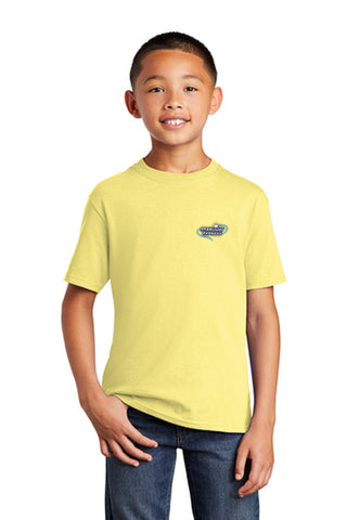 STARLIGHT EXPRESS Show Apparel - Youth Cotton Tee - Yellow - PC54Y