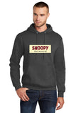SNOOPY The Musical Show Apparel - Adult Pullover Sweatshirt - Dark Heather Gray - PC78H