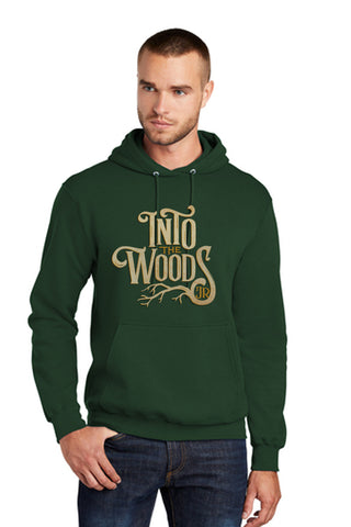 INTO THE WOODS JR Show Apparel - Adult Pullover Sweatshirt - Dk Green - PC78H