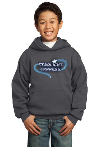 STARLIGHT EXPRESS Show Apparel - Youth Pullover Sweatshirt - Charcoal - PC90YH