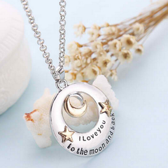 I Love You to the Moon and Back Necklace  / Offer Value $38.99 Yours FREE!