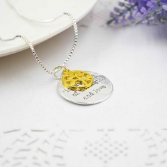 Tree Family Gold Pendant Necklace  / Offer Value $33.90 Yours FREE!