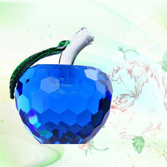 Blue Crystal Healing Apple / Offer Value $42.95 Yours $4.95 Only