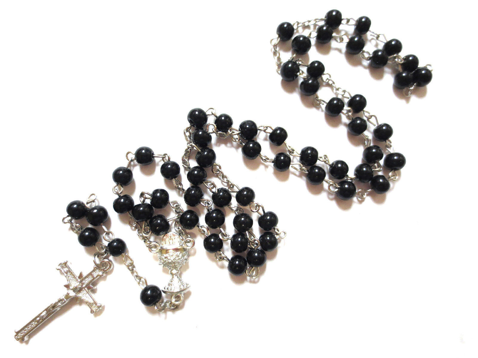 Black Crucifix Necklace  / Offer Value $39.90 Yours Only $4.99!